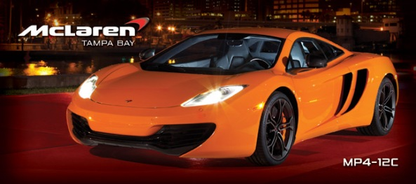 Laren Tampa Bay - MP4-12C