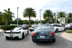 3rd Dimmitt Rally in Tampa Bay. Supercar owners club