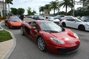 30 Supercar Rally in Tampa, Sarasota, Ocala, St Pete and Naples.