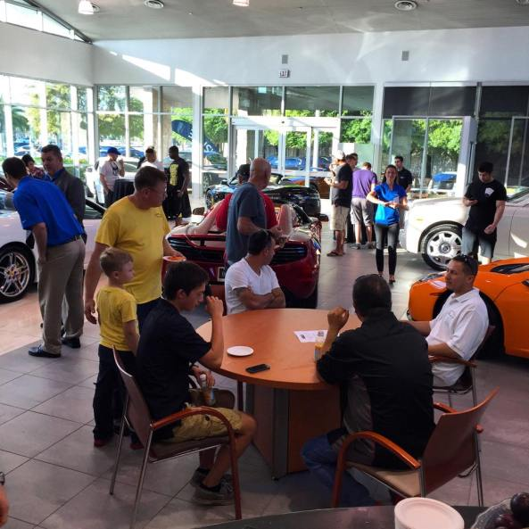 Join us for our Cars & Coffee Afterparty after the DuPont Registry Cars & Coffee.
